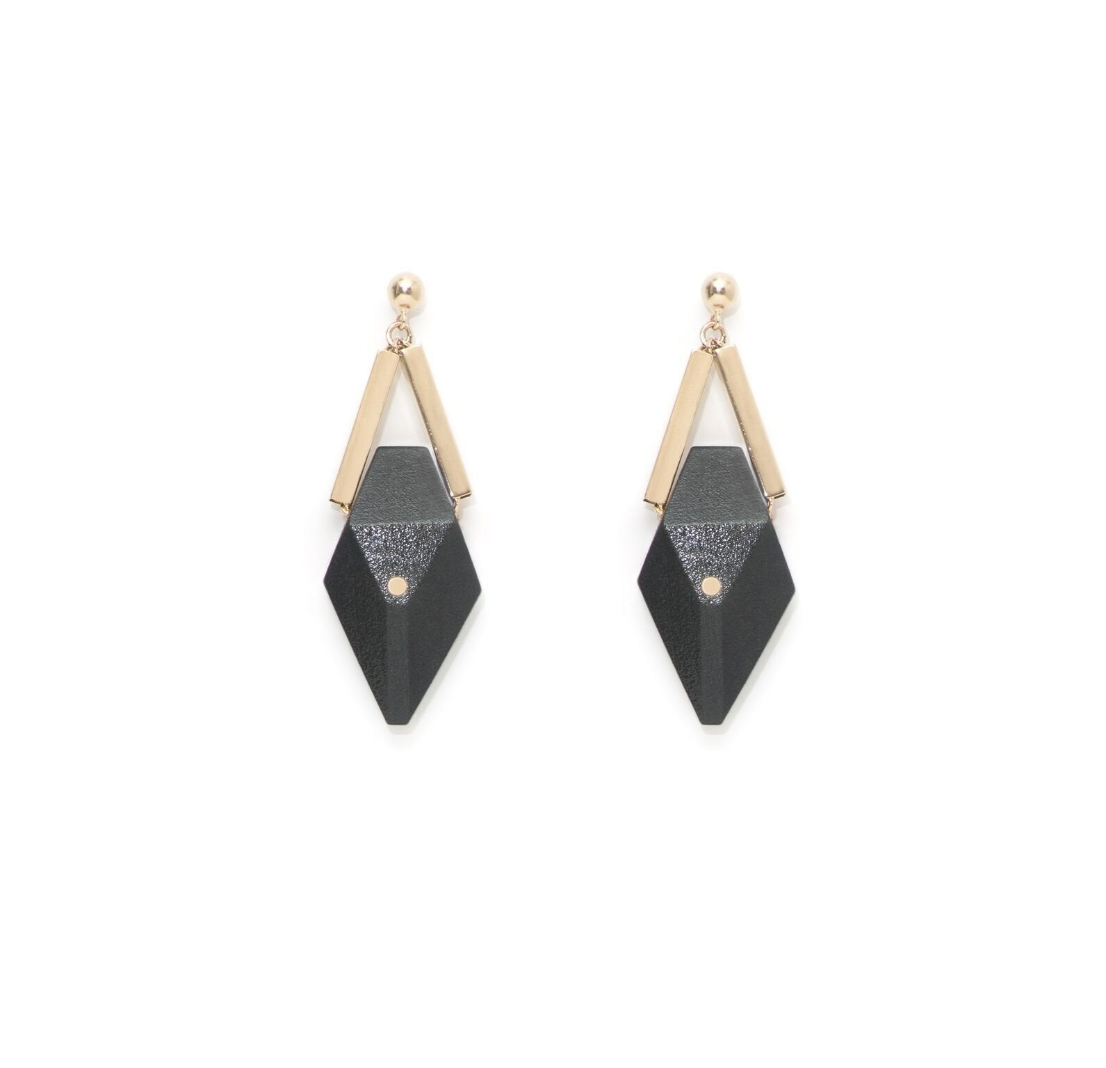 Pan Black Champagne Earrings - The Clothing LoungeSalomé Charly