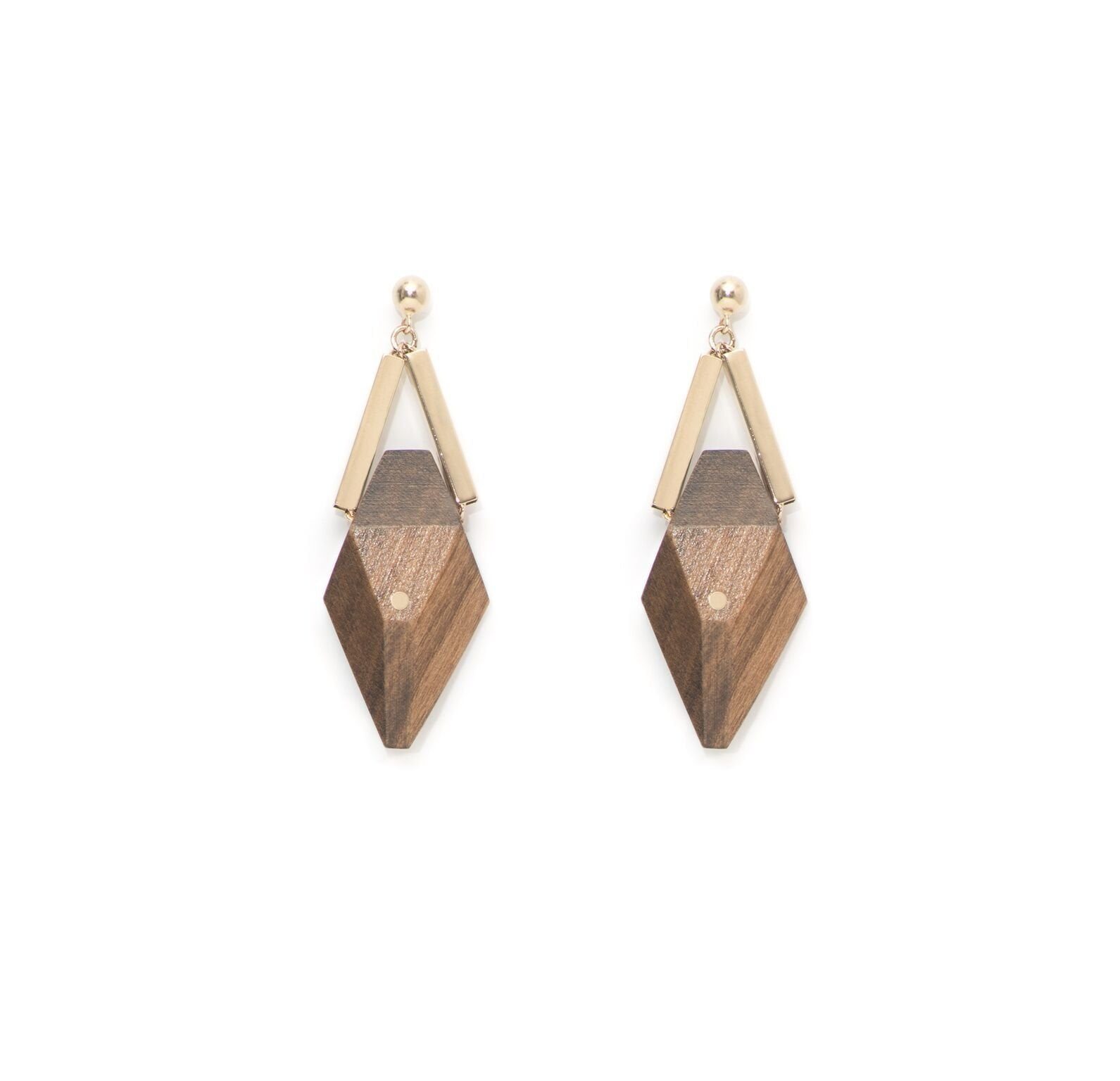 Pan Gray Champagne Earrings - The Clothing LoungeSalomé Charly