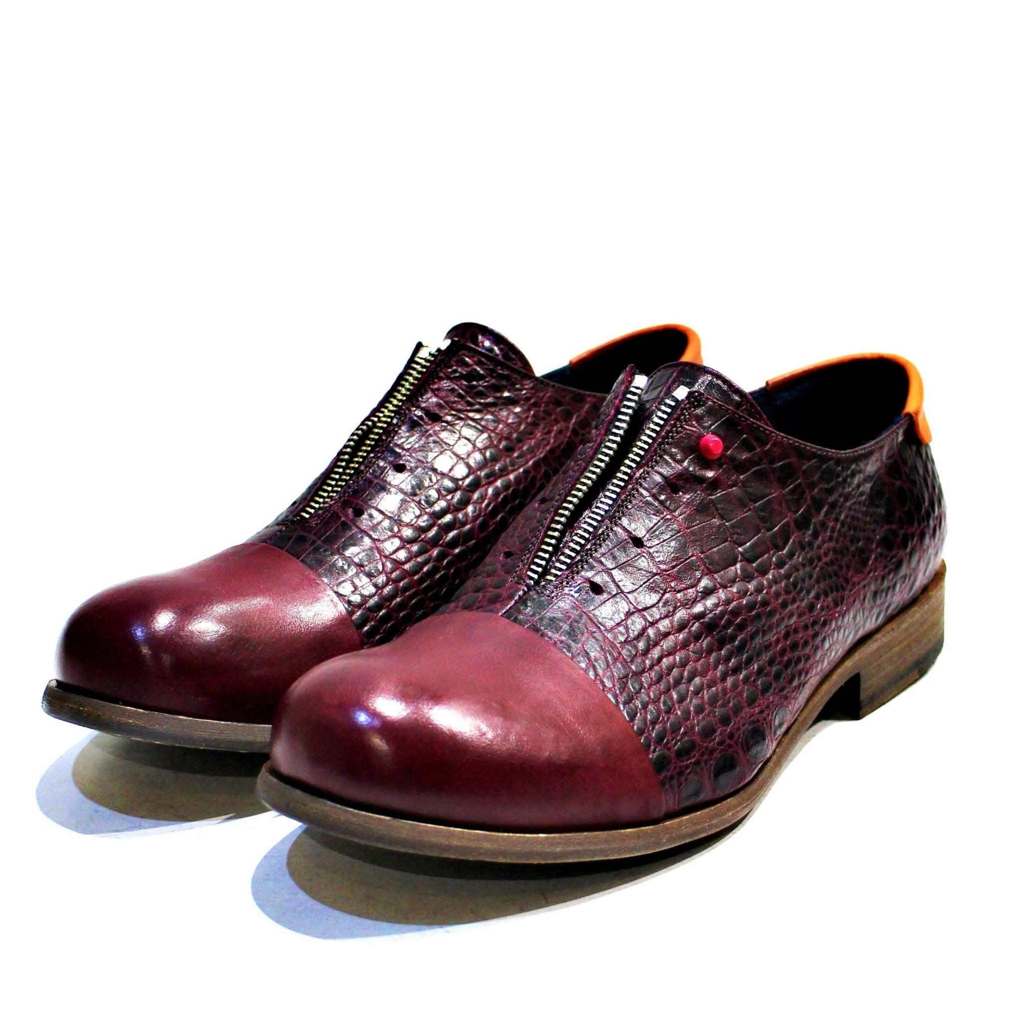 Pisa Bordeaux Oxford Shoes - The Clothing LoungePINTTA