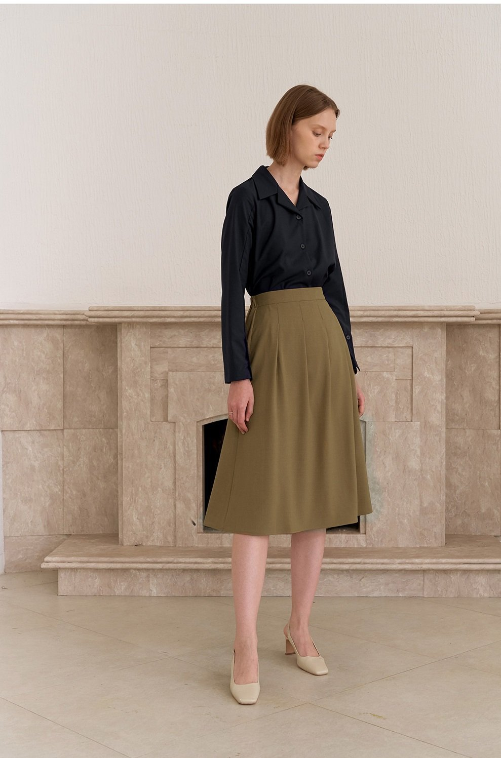 TUCKED SKIRT - The Clothing LoungeYUPPE