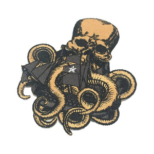 Octopus Iron on Patch