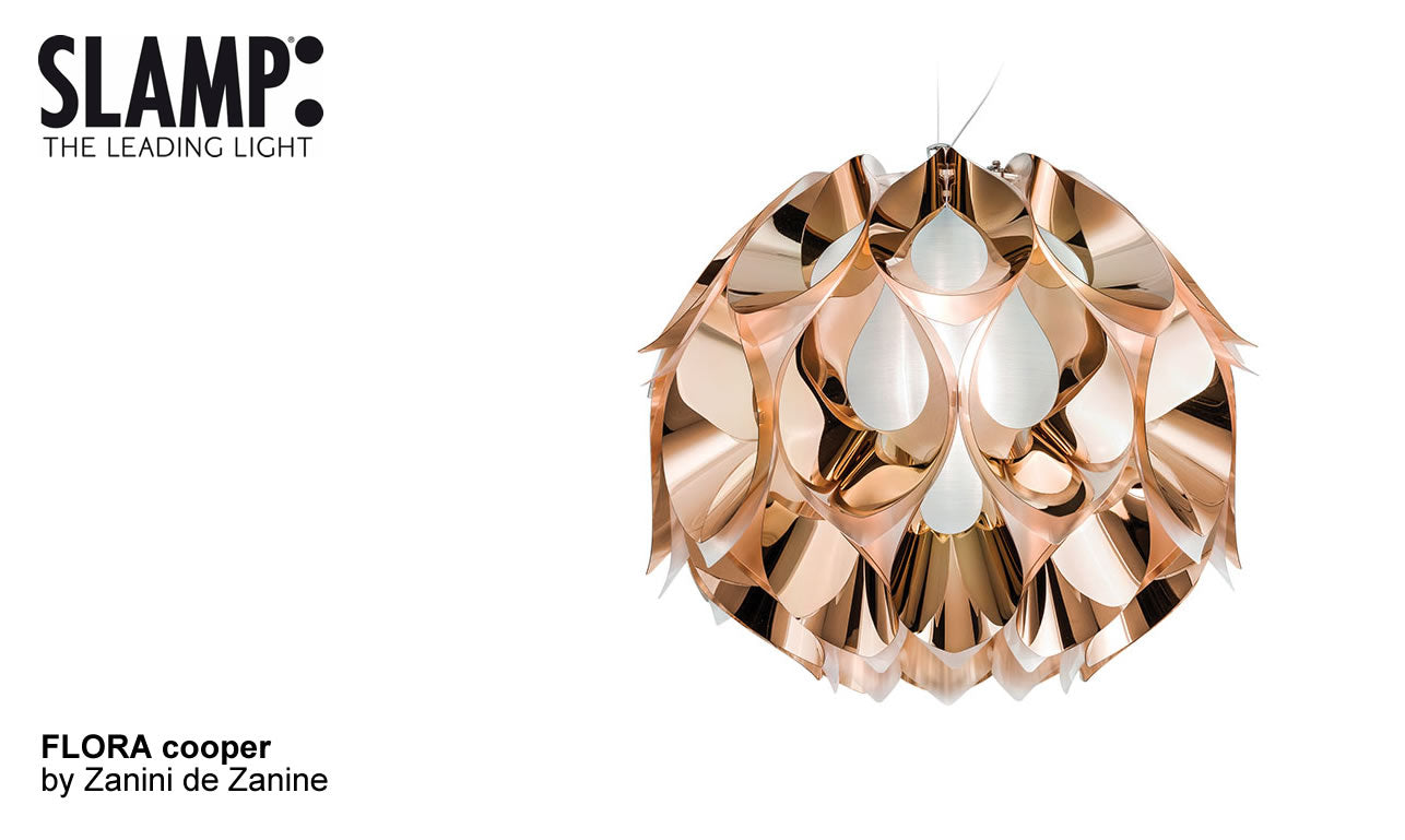 FLORA SUSPENSION SMALL  COBRE by Zanini De Zanine