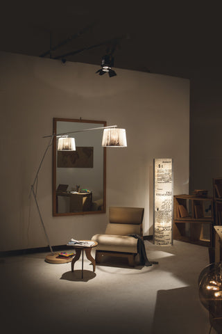 WOODY FLOOR LAMP by Luca Mazza