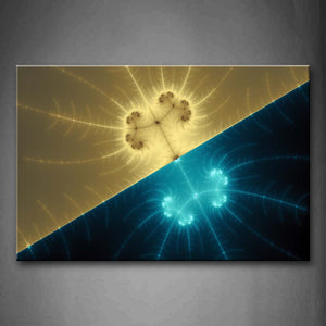 Abstract Blue Gray  Wall Art Painting Pictures Print On Canvas Abstract The Picture For Home Modern Decoration