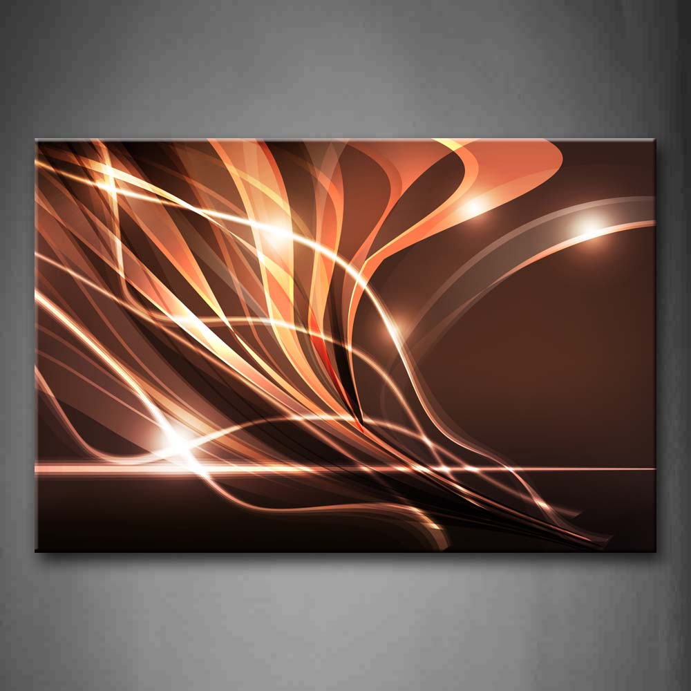 Abstract Pink Lines  Wall Art Painting The Picture Print On Canvas Abstract Pictures For Home Decor Decoration Gift