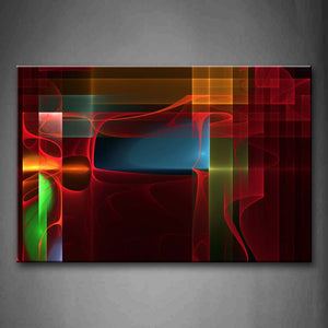 Abstract Colorful Beautiful Wall Art Painting The Picture Print On Canvas Abstract Pictures For Home Decor Decoration Gift