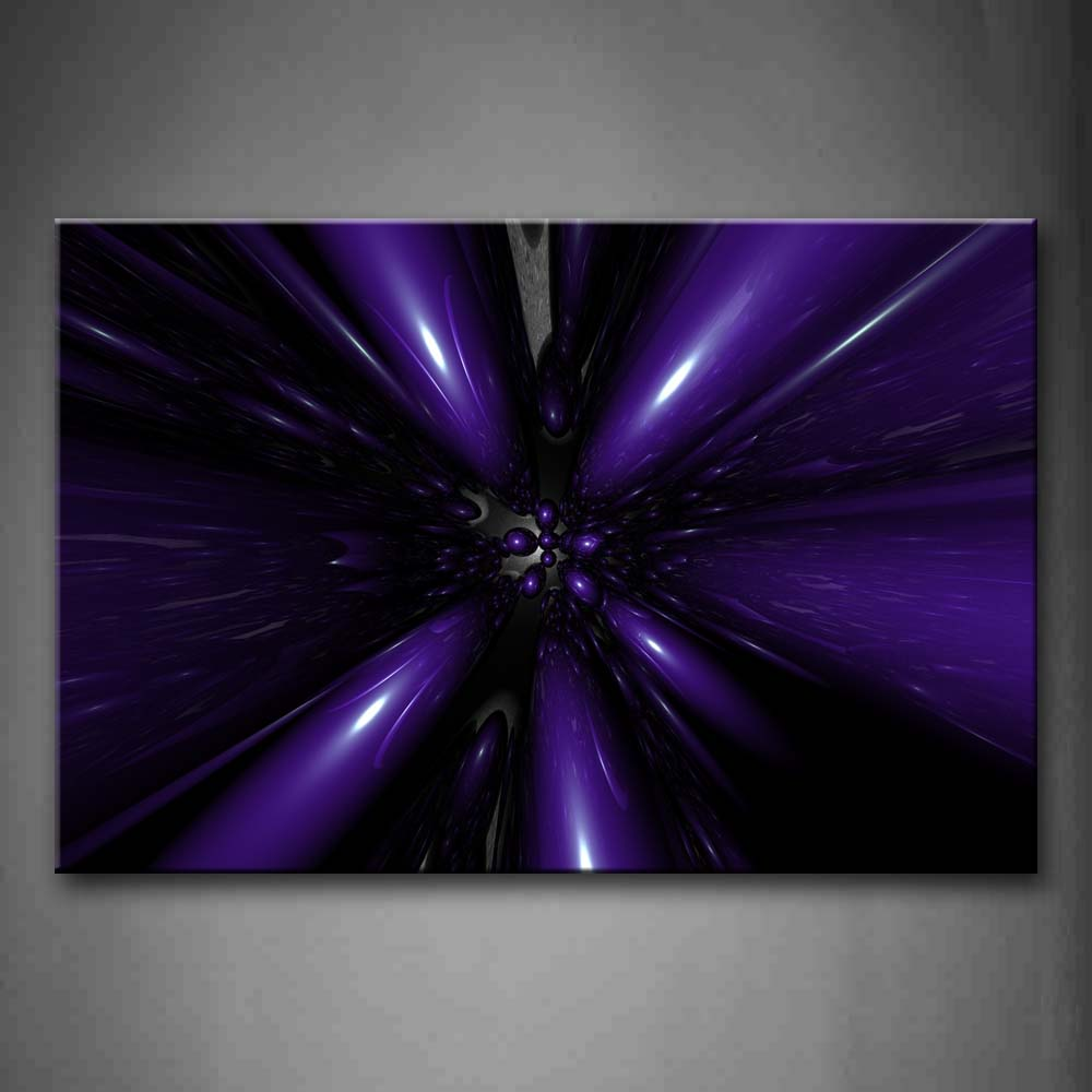 Abstract Purple Speed Wall Art Painting The Picture Print On Canvas Abstract Pictures For Home Decor Decoration Gift