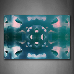Abstract Like Lake Iceberg Wall Art Painting Pictures Print On Canvas Abstract The Picture For Home Modern Decoration