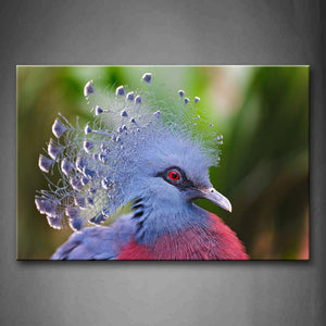 Beautiful Pigeon'S Head  Wall Art Painting Pictures Print On Canvas Animal The Picture For Home Modern Decoration