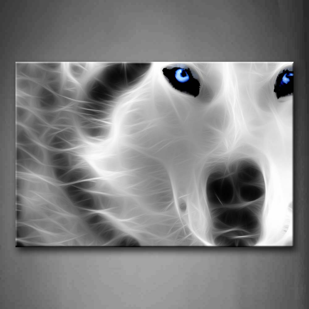 Artistic Wolf Wall Art Painting The Picture Print On Canvas Animal Pictures For Home Decor Decoration Gift