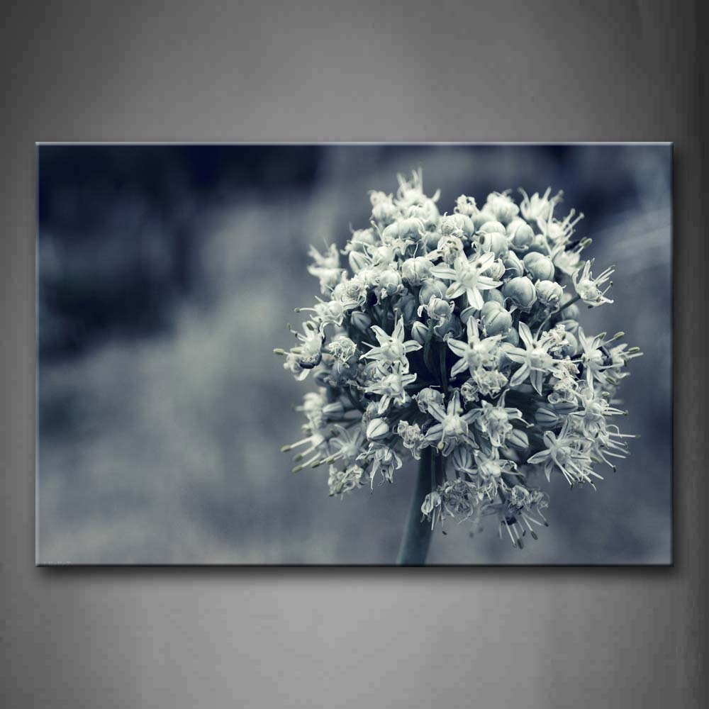 Big Bunch Flower With Many Little Flowers Wall Art Painting Pictures Print On Canvas Flower The Picture For Home Modern Decoration