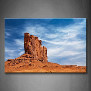 Yellow Strange Rock On Yellow Hill Wall Art Painting Pictures Print On Canvas Landscape The Picture For Home Modern Decoration