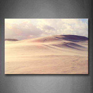 Big Desert With Sand Dune Wall Art Painting Pictures Print On Canvas Landscape The Picture For Home Modern Decoration