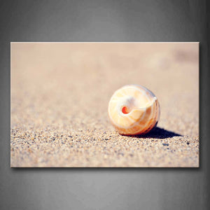 A Shell On Sand Land Wall Art Painting The Picture Print On Canvas Art Pictures For Home Decor Decoration Gift