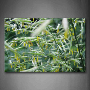 Yellow Flower And Green Leaf Wall Art Painting The Picture Print On Canvas Botanical Pictures For Home Decor Decoration Gift