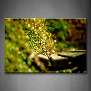 A Lot Of Green Leaves  Wall Art Painting Pictures Print On Canvas Botanical The Picture For Home Modern Decoration