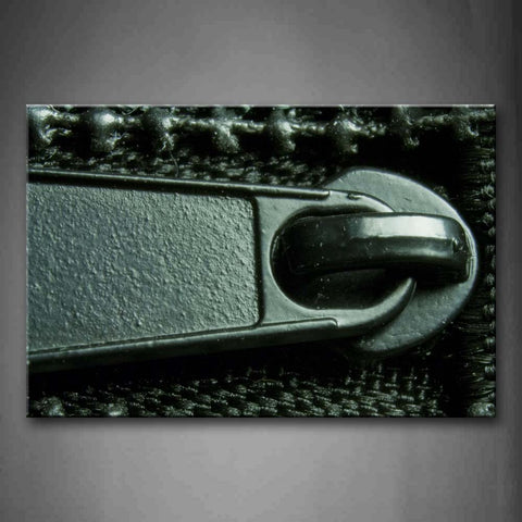 Zipper Close Up  Wall Art Painting The Picture Print On Canvas Art Pictures For Home Decor Decoration Gift