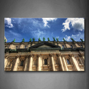 Basiliqu Basilique Notore Dame Wall Art Painting Pictures Print On Canvas Religion The Picture For Home Modern Decoration