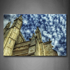 Winchester Cathedral Wall Art Painting Pictures Print On Canvas Religion The Picture For Home Modern Decoration