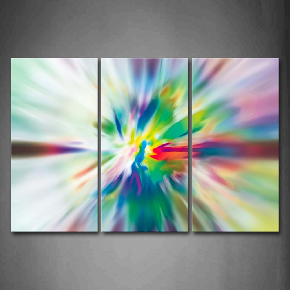 Artistic Colorful Beautiful Wall Art Painting Pictures Print On Canvas Abstract The Picture For Home Modern Decoration