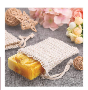 Sisal All Natural Soap Bag