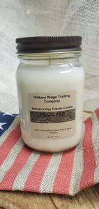 Veterans Day Tribute Candle