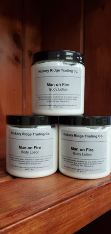 Man on Fire Body Lotion