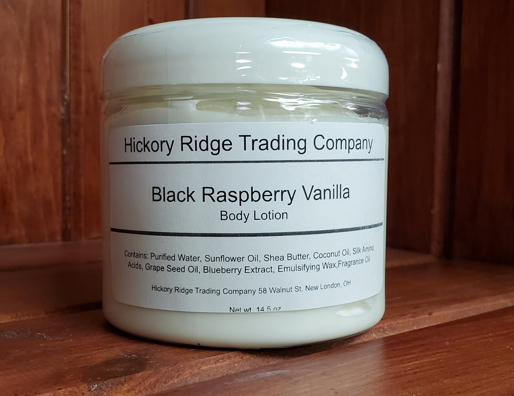 Black Raspberry Vanilla 14.5 oz
