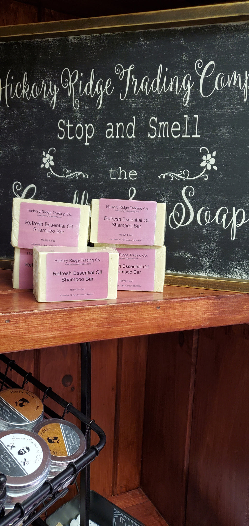 Refresh Shampoo Bar
