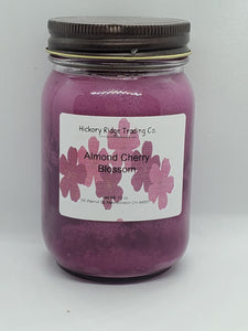 Almond Cherry Blossom Soy Candle