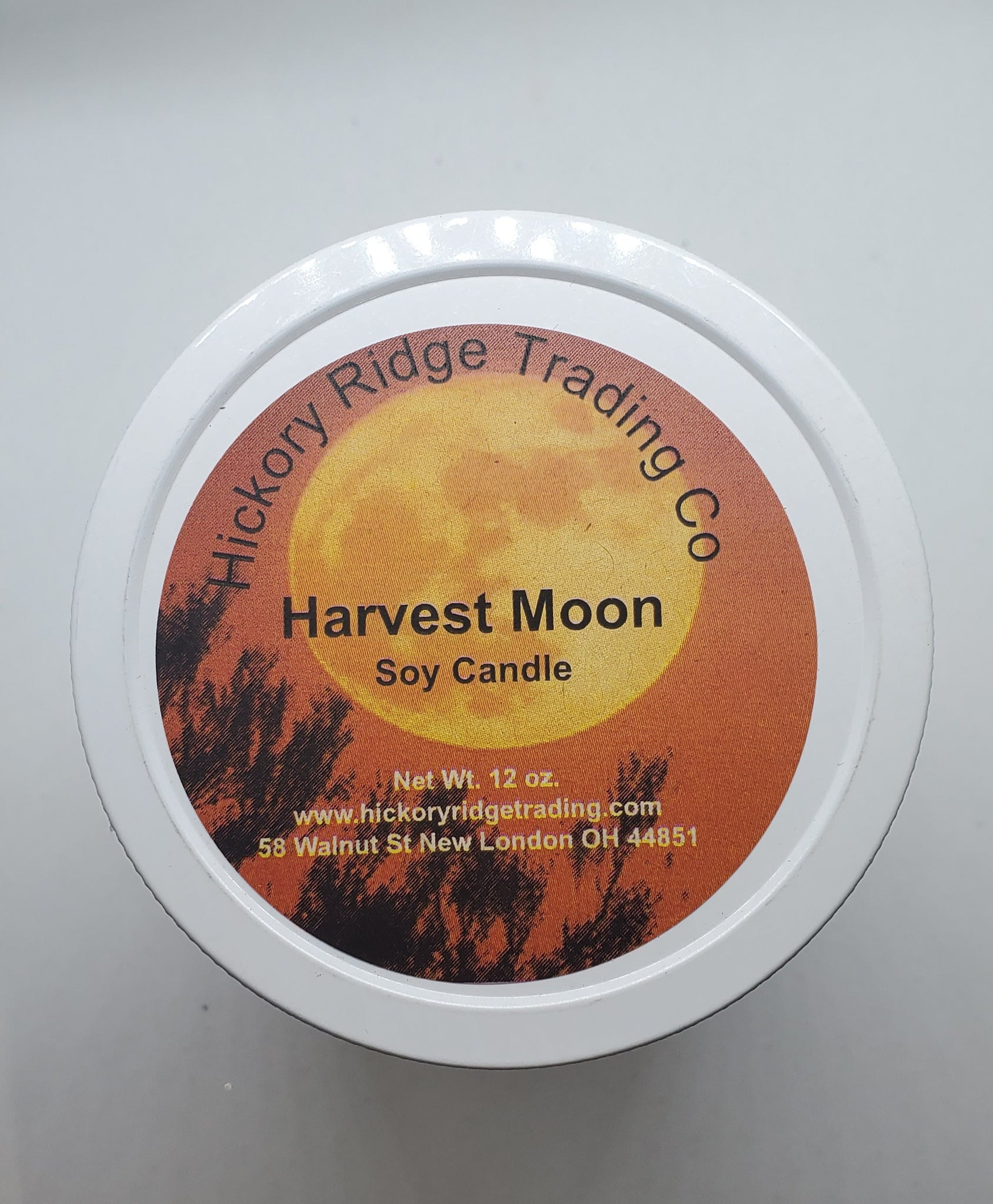 Harvest Moon 12 oz Soy Candle