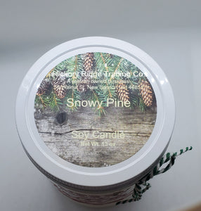Snowy Pine Limited Edition 13 oz. Soy candle