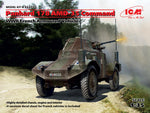 ICM #35375 1/35 Panhard 178 AMD-35 Command, WWII French Armoured Vehicle