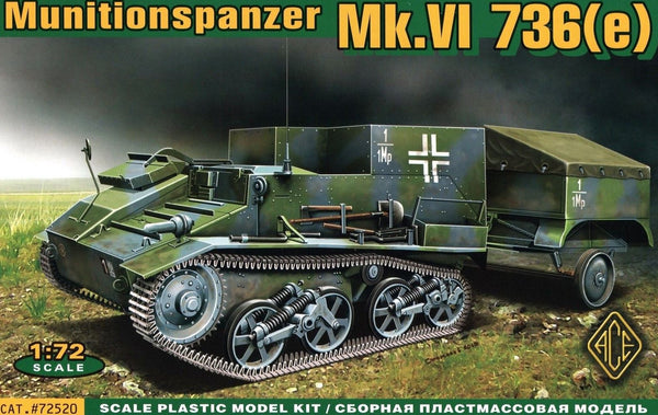 ACE Model #72520 1/72 Munitionspanzer Mk.VI 736(e)