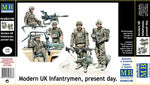Master Box #35180 1/35 Modern UK Infantrymen, present day