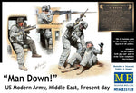 Master Box #35170 1/35 Man Down! US Modern Army, Middle East, Present day