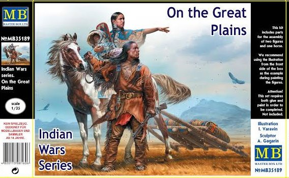 Master Box #35189 1/35 Indian Wars Series. On the Great Plains