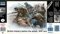 Master Box #35114 1/35 British Infantry before the attack, WWI era