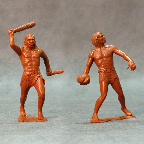 ARK Model Cavemen Set of two figures #2 (L-15cm)