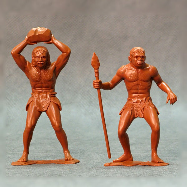 ARK Model Cavemen Set of two figures #3 (L-15cm)