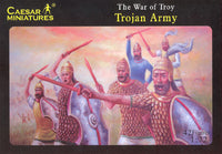 Caesar Miniatures #019 1/72 Trojan Army The War of Troy