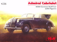 ICM #35471 1/35 Admiral Cabriolet, WWII German Staff Car