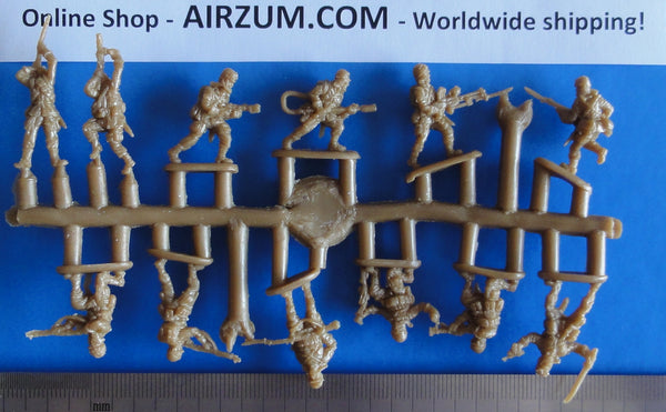 Sprue 1/72 Strelets R Japanese Imperial Airborne Troops WW2 Plastic Figures Strelets M104