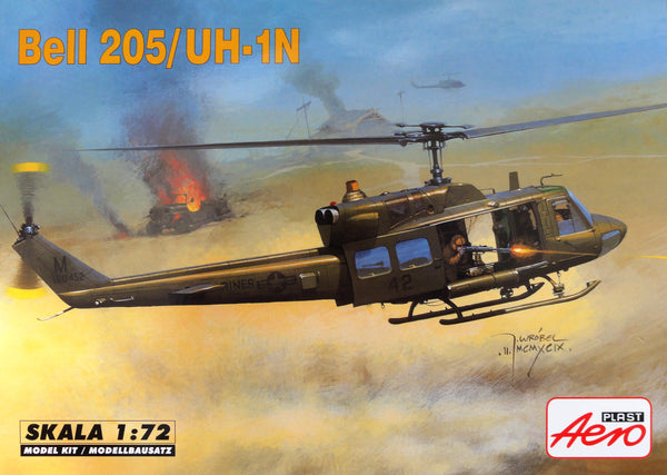 Aeroplast 1/72 Helicopter Bell 205/UH1N