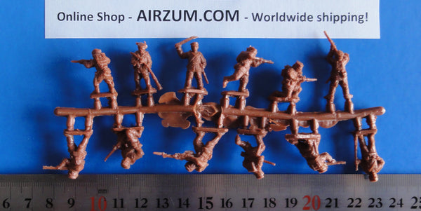 Sprue 1/72 Japanese Infantry Plastic Figures Red Box RB72020
