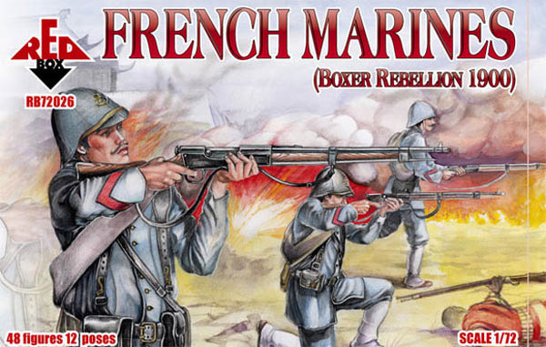RedBox 1/72 French Marines 48 Plastic Figures RB72026