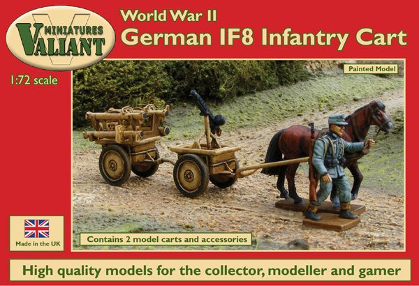 Valiant Miniatures 1/72 German IF8 Infantry Cart (2 sets in box) Plastic Figures VM005 SALE!!!