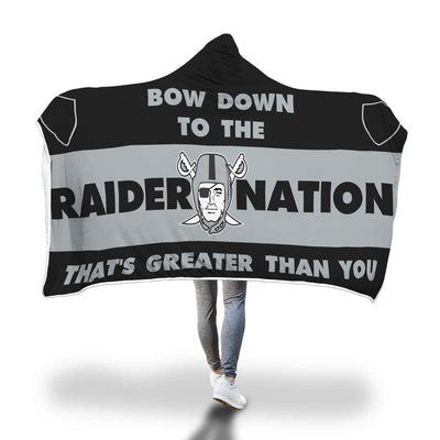 RAIDER NATION Bow Down (Black)