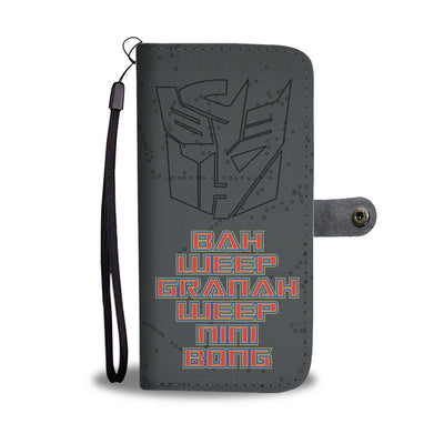 Autodeceptibot Wallet Phone Case