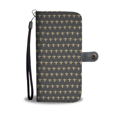Saints Pattern Wallet Case